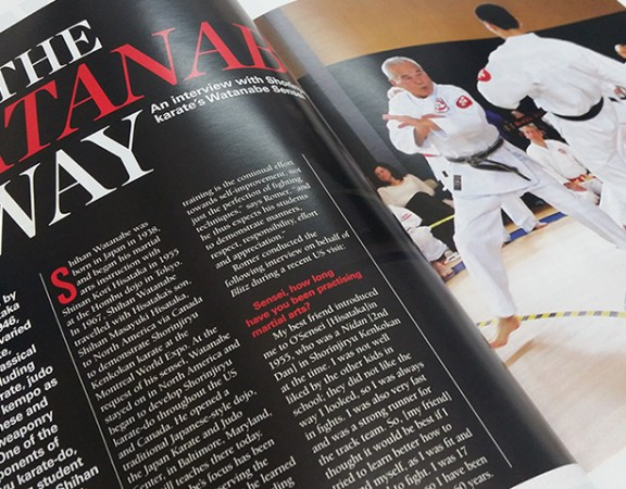 Seishinjuku Karate Dojo Brisbane - Blitz Australasian Martial Arts Magazine Article