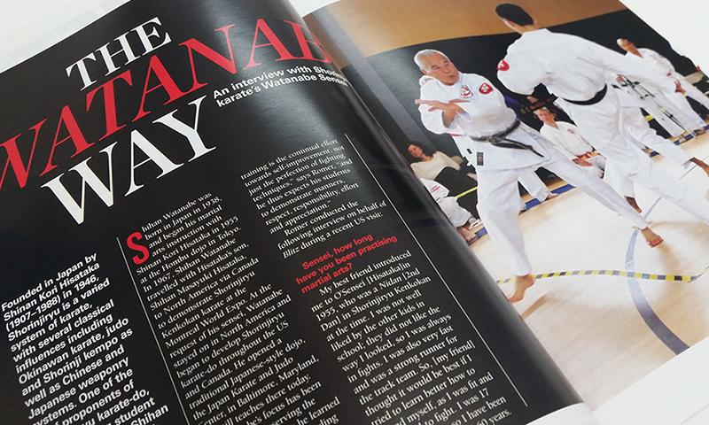 Seishinjuku Karate Dojo Brisbane - Blitz Australasian Martial Arts Magazine Article