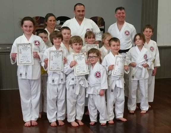 Seishinjuku Dojo Brisbane Junior Grading
